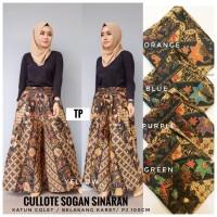 kulot/jeje kulot/kulot batik/batik sogan/celana batik/celana panjang