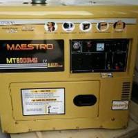 Genset Silent 5.000w Solar Maestro atau General MT6800S Paling Laris
