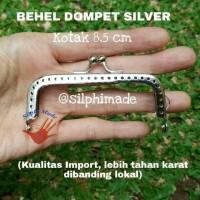 Behel Dompet Kotak 8,5cm / Frame Dompet / Bahan Dompet