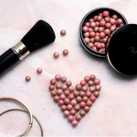 Giordani gold bronzing pearls || blush on oriflame