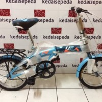Sepeda lipat exklusif bagus Sepeda Lipat Anak 16 Odessy