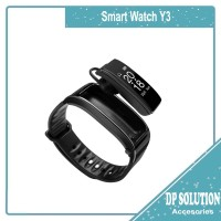 Smartwatch Jam Tangan Pintar Smart Watch Y3 For Headset Bluetooth