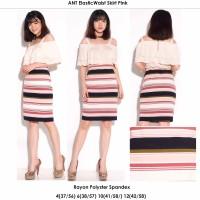 ANN Elastic Waist Skirt - Rok Pendek Branded Murah - 2 Warna