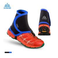 Aonijie Gaiter E940 - Pelindung Kaki Sepatu - Trail Running Blue