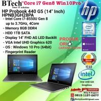 "HP Probook 440 G5 - HPNB3GH28PA(14""Inch) Core i7-8550U/8GB/1TB/W10/1YR"