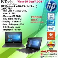 """HP Probook 440 G5 - 2YP77PA (14""""Inch) Core i5-7200U/4GB/1TB/DOS/1YR"""