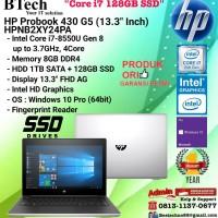 HP Probook 430 G5 - HPNB2XY24PA Core i7-8550U/8GB/1TB+128GB/W10/1YR