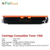 New Compatible Toner Printer HP Laserjet M176 M177FW M551N CF353A