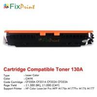 New Compatible Toner Printer HP Laserjet M176 M177FW M551N CF351A Cyan