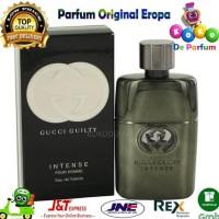 Parfum Ori Eropa Pria Gucci Guilty Intense Parfume Original