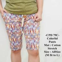 Celana Pendek Cowok Fashion Distro Model Casual Colorful Pants - 79C