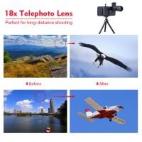 Harga terlaris apexel 18x telescope zoom mobile phone iphone lens   Hargalu.com