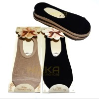 Kaos kaki Bamboo, Hidden socks, Kaos kaki semata kaki serat Bambu