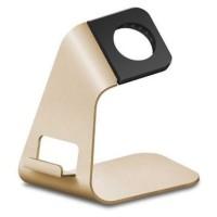 Gold-iWatch Metal Aluminium Bracket Stand for Apple Watch
