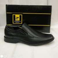 Sepatu Kulit Pakalolo N0333 Hitam Pantofel Pria Original - , Original