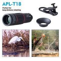 Harga berkualitas apexel 18x telescope zoom mobile phone iphone lens   Hargalu.com