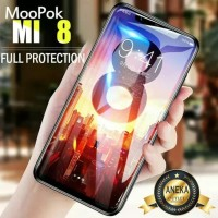 XIAOMI Mi8 Mi 8 Anti Gores Kaca 5D Tempered Glass Full Glue Cover Hp