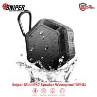 Sniper Mini Bluetooth Waterproof Speaker MY-01 -Black