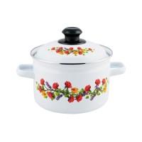 IDEAL Panci masak ENAMEL 18 cm ENGKEL higenis sehat indah
