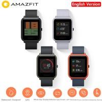 JAE Huami Amazfit 25D Gorilla Layar Smartwatch IP68 Tahan Air Denyut