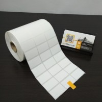 KERTAS STICKER LABEL PRINTER BARCODE 33 X 19 MM - 3 LINE - SEMICOATED