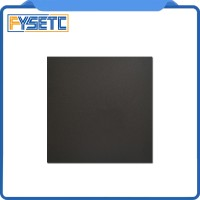 1pc 200x200mm black Frosted Heated bed Wanhao i3 3D Printer Sticker Bu