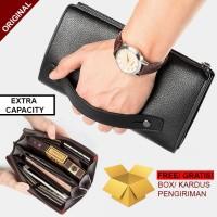 BL01 Tas Tangan Pria / Hand Bag / Clutch/ Dompet Kulit Impor