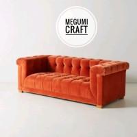 Sofa minimalis kursi tamu mebel scandinavian style furniture Jepara