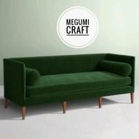Sofa minimalis kursi tamu mewah Jepara scandinavian