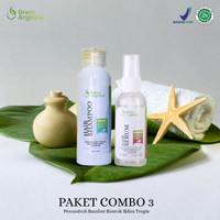 Shampo Anti Rontok / Vitamin Rambut - Green Angelica Combo 3