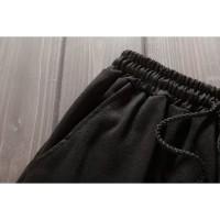 Celana Pendek Casual Elastis Motif Print untuk Pria Berkualitas