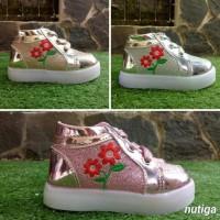 Ioanita Sepatu Boots Anak Perempuan Led Cantik Berkualitas