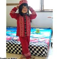 Top Seller Koko Anak Batik Muslim Baju Setelan Pakaian Gamis Anak