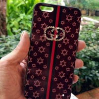PROMO Oppo A83 Case Gucci Swarovsky Soft Silicone PC Fuze Back Cover