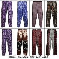 Celana Panjang Goyor Batik & Celana Panjang Pria & Celana Tidur Pria