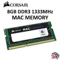 TERBARU Corsair 8GB DDR3 1333 MHz SODIMM Mac iMac MacBook Pro RAM Me