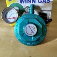 Regulator WINN GAS W 121 Meter Untuk Tabung LPG dan Bright