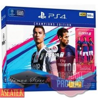 KASET GAME PROMO PS4 SLIM 500GB HDD / BUNDLE FIFA 19 CHAMPIONS / PLAYS