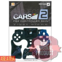 KASET GAME PROMO PS4 CONTROLLER SKIN MOTIF PROJECT CARS 2 - STIK STICK