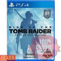 KASET GAME PROMO PS4 RISE OF THE TOMB RAIDER: 20 YEAR CELEBRATION