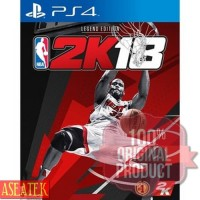 KASET GAME PROMO PS4 NBA 2K18 LEGEND EDITION / NBA2K18