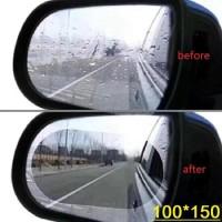 Kaca Film Anti Air Waterproof / Anti Embun Spion Mobil / uk150 x 100