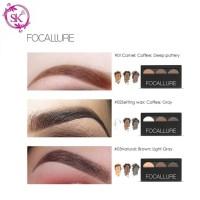 Focallure FA04 Eyebrow Powder Pallete 3 Colors