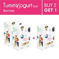 [BUY 2 GET 1] Heavenly Blush Tummy Yogurt Bar Berries 12Px25gr