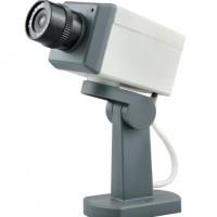 Kamera CCTV Palsu Dummy Outdoors dengan motion gerak