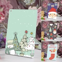 New Christmas Pattern Tablet Protective Case Cover for iPad Air/Air 2/