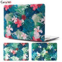 Carry360 Beautiful Floral Leaves Laptop Case for Apple Macbook Air Pro