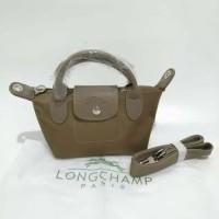 Tas import fashion handbag longchmp neo lepliage mini