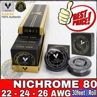 Vapor Tech Nichrome 80 Wire 22 24 26 28 ga awg Ni80 vaportech nikrom