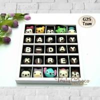 hadiah ulang tahun anak Disney tsum coklat trulychoco